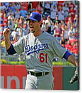 Josh Beckett Canvas Print