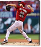 Josh Collmenter Canvas Print