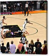 Jrue Holiday and Devin Booker Canvas Print
