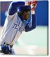 Julio Franco Canvas Print
