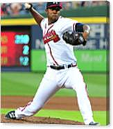 Julio Teheran Canvas Print
