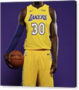 Julius Randle Canvas Print