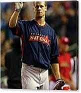Justin Morneau Canvas Print