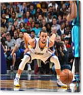 Kemba Walker and Stephen Curry Canvas Print