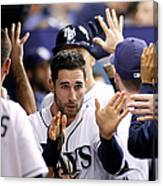 Kevin Kiermaier and James Loney Canvas Print