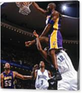 Kobe Bryant and Dwight Howard Canvas Print