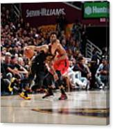 Kyle Lowry and George Hill Canvas Print