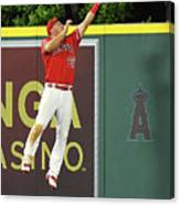 Kyle Seager and Mike Trout Canvas Print