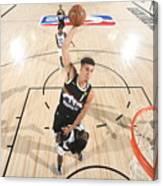 LA Clippers v Denver Nuggets - Game Three Canvas Print