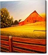 La Crosse Barn Canvas Print