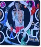 Ladies And Gentlemen - The Rolling Stones Canvas Print