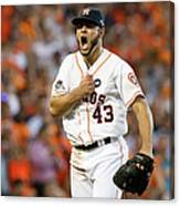 Lance Mccullers Canvas Print