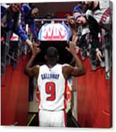 Langston Galloway Canvas Print