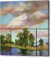Last of Sand Creek  - Plein Air Canvas Print