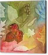 Leaves V Canvas Print