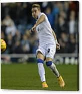 Leeds United v Charlton Athletic - Sky Bet Championship Canvas Print