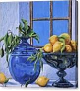 Lemons Canvas Print