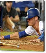 Logan Forsythe and Cody Bellinger Canvas Print
