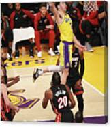Lonzo Ball Canvas Print