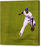 Lorenzo Cain and Joey Gallo Canvas Print