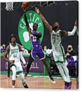 Los Angeles Lakers v Boston Celtics Canvas Print