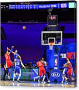 Los Angeles Lakers v Philadelphia 76ers Canvas Print