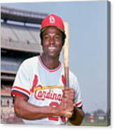 Lou Brock Canvas Print