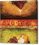 Love Feast Canvas Print