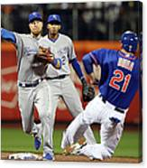Lucas Duda and Ben Zobrist Canvas Print
