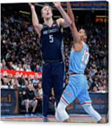 Luke Kennard Canvas Print