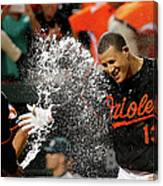 Manny Machado and Jonathan Schoop Canvas Print