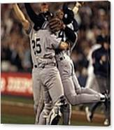 Mariano Rivera and Joe Girardi Canvas Print