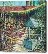 Mary's Garden Canvas Print