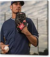Matt Garza Canvas Print