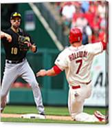 Matt Holliday and Neil Walker Canvas Print