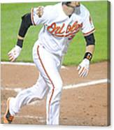 Matt Wieters Canvas Print