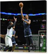Memphis Grizzlies v Boston Celtics Canvas Print