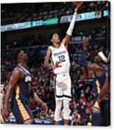 Memphis Grizzlies v New Orleans Pelicans Canvas Print