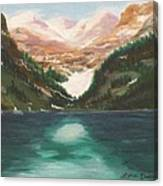 Mendenhall Glacier Alaska Canvas Print