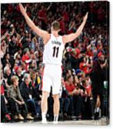 Meyers Leonard Canvas Print