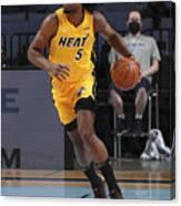 Miami Heat v Memphis Grizzlies Canvas Print