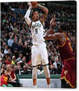 Michael Beasley Canvas Print