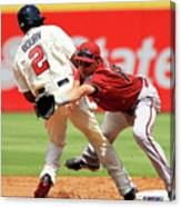 Michael Bourn and Nick Ahmed Canvas Print