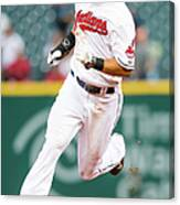 Michael Brantley And David Murphy Canvas Print