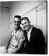 Mickey Mantle And Roger Maris Canvas Print