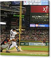 Miguel Cabrera, Anthony Gose, and Rajai Davis Canvas Print