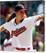 Mike Clevinger Canvas Print