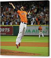 Mike Fiers Canvas Print