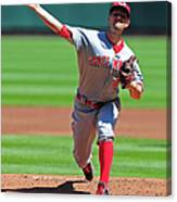 Mike Leake Canvas Print