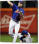 Mike Moustakas and Daniel Murphy Canvas Print